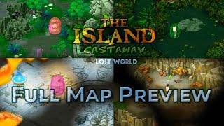 Island Castaway Lost World Full Island Preview + Caves and Santuary | GameUnix | screenshot 3