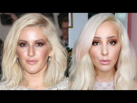 Ellie Goulding Inspired Makeup Tutorial | by tashaleelyn