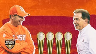 Clemson and Alabama are equals on a collision course for another championship | College Football