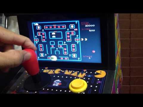 Custom PACMAN Arcade 8 In 1 Arcade Cabinet Plug And Play