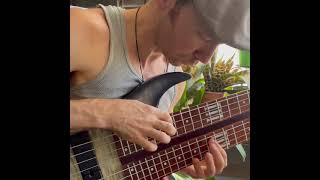 Extreme Bass Tapping Solo - 8 String Bass