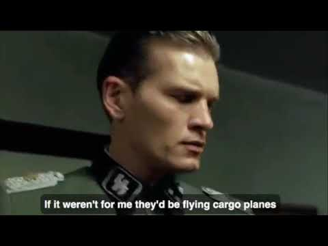 Hitler finds out Ryanair is cancelling flights