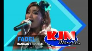 karaoke mangan turu bae voc nisa fadel kjm musik top dangdut pantura