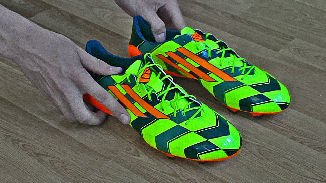 0d23ff186 2014 Gareth Bale Football Boots  Adidas F50 CRAZYLIGHT - Unboxing - YouTube