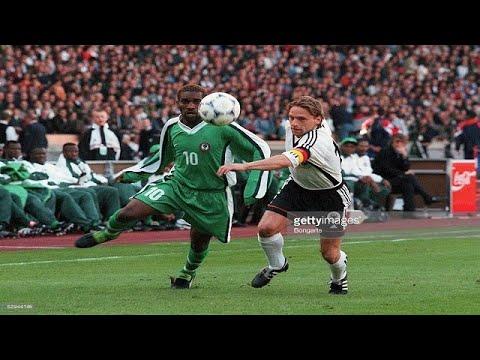 Jay Jay Okocha vs Germany (22 April 1998)