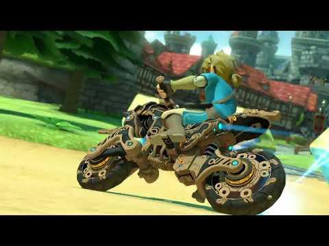 Mario Kart 8 Deluxe: Breath of the Wild Update Trailer