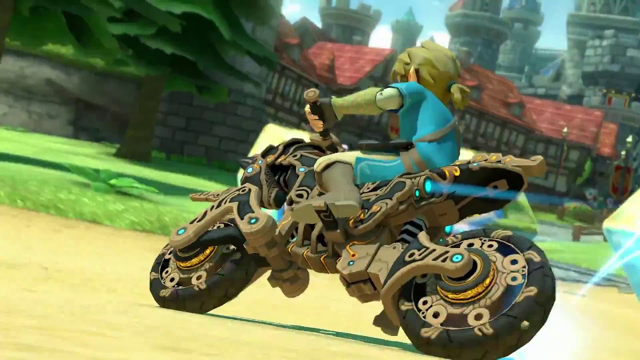 Mario Kart 8 Deluxe: Breath of the Wild Update Trailer