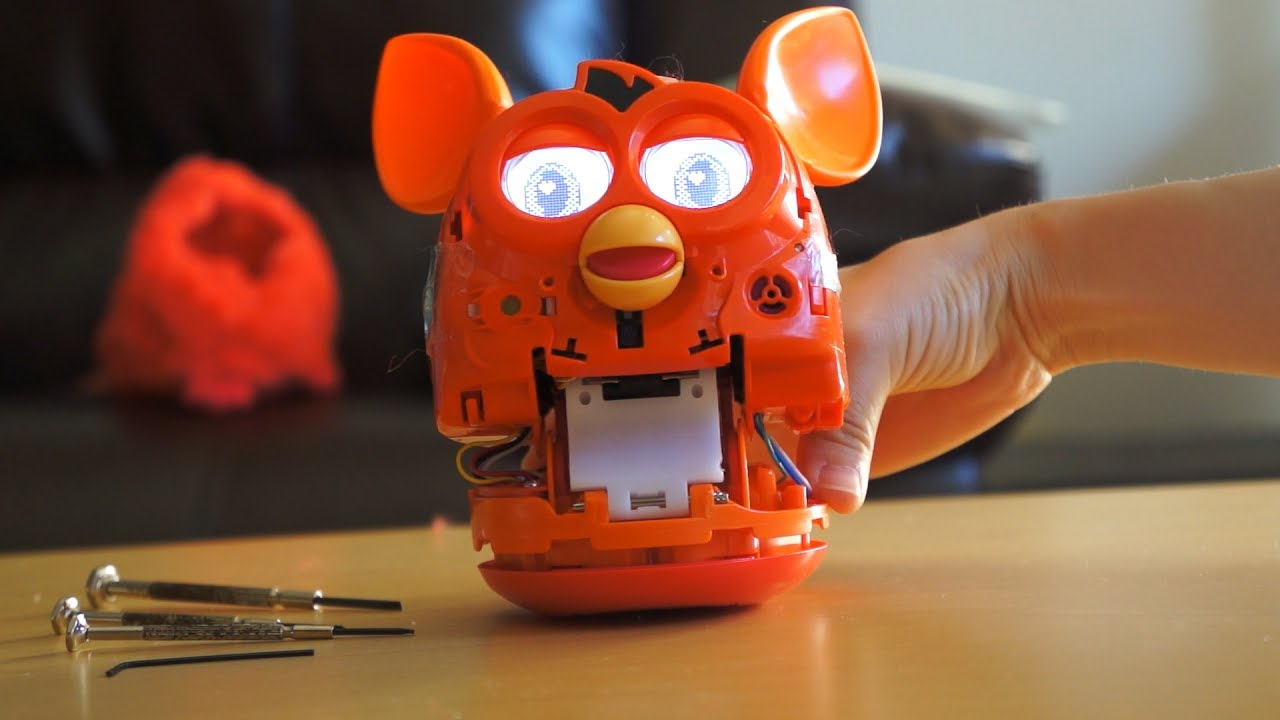 Naked Furby Robot Youtube