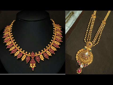 Traditional Light Weight Necklace Set Designs