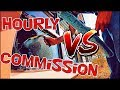 HOURLY VS COMMISSION | PROS & CONS