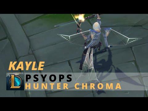 PsyOps Kayle Hunter Chroma - League Of Legends