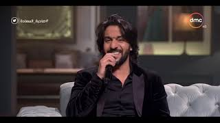 صاحبة السعادة   شوف إبداع بهاء سلطان في أداء التواشيح الدينية وتأثر إسعاد يونس   YouTube