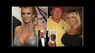 Donald Trump denies 'paying porn star Stormy Daniels £95k hush money amid claims he cheated on Mela