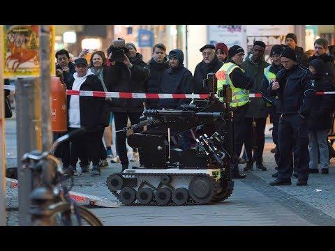 Polizei verdächtigt DHL-Erpresser: Briefbombe an Bank in Berlin geschickt