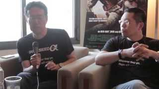 APPLESEED ALPHA Director SHINJI ARAMAKI At Comic-Con 2014