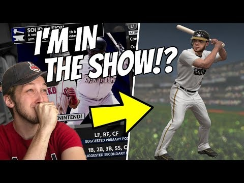I'M IN MLB 18!? THE CREATION OF FUZZY! MLB THE SHOW 18 ROAD TO THE SHOW RTTS
