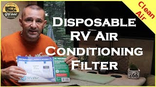 RV Air Conditioner Disposable Air Filter - No More Mold Spores, Pollen, or Dust - Review