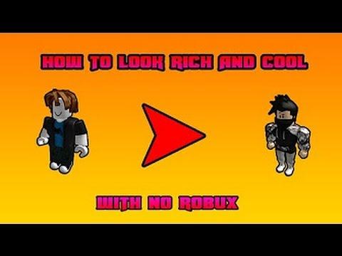 Como Parecer Rico En Roblox Sin Robux Version Chicos Youtube