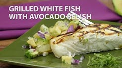 Grilled White Fish with Avocado Relish