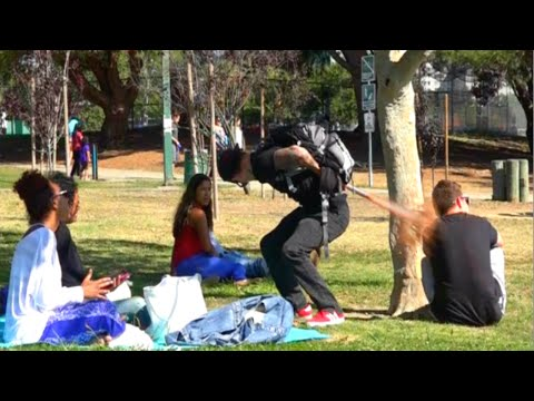 Exploding Diarrhea on People Prank