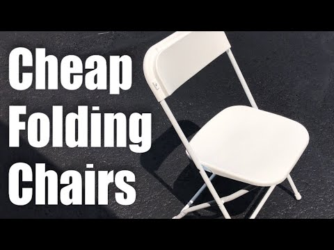 Best Choice Products (5) Commercial White Plastic Folding Chairs Review
