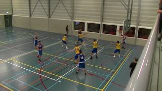 4 november 2017 BV oegstgeest M22 vs Rivertrotters M22 77-49 3rd period