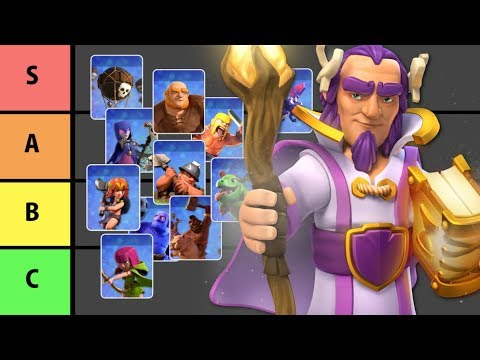Clash Of Clans Troop Tier List For TH11