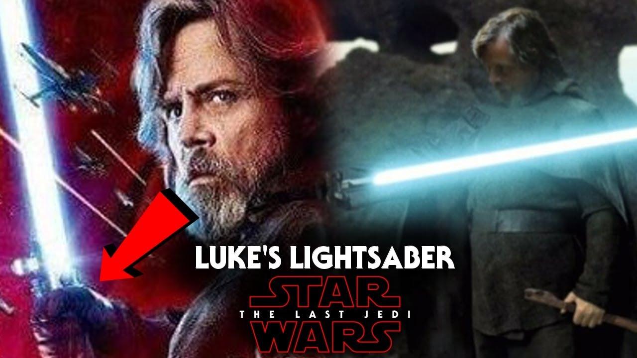 Last Jedi Lukes Lightsaber Star Wars
