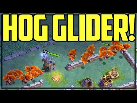 Clash Of Clans Hog Glider Gameplay - A Deeper 'DIVE'