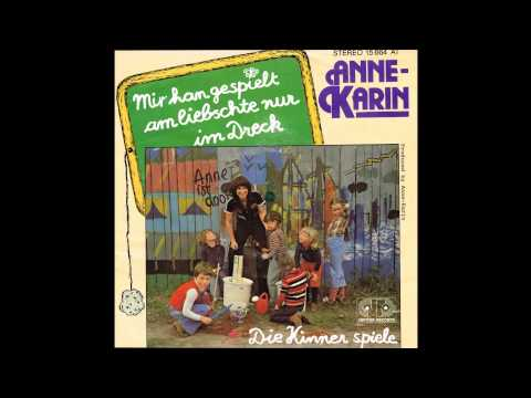 Anne Karin  Mir han gespielt am liebschte nur im Dreck 1978 Vinyl
