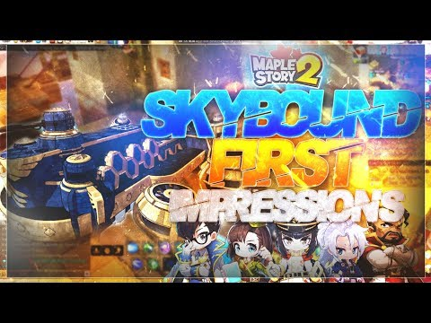 MapleStory 2 - Skybound Expansion First Impressions! (Phase One)