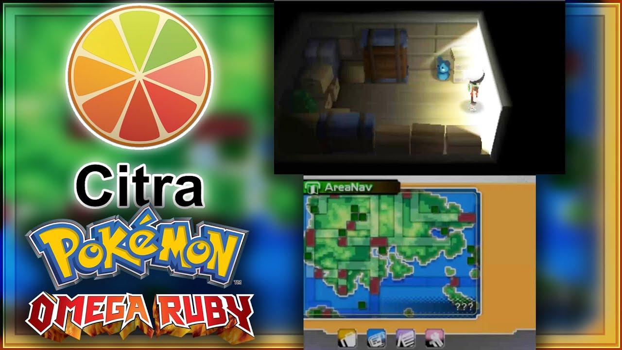 Citra 3ds Emulator Pok 233 Mon Omega Ruby Ingame 1 Until