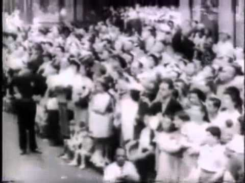 Republican Union Newsreel and Parade, New York, 1940s (Alternate History)