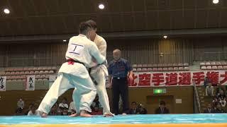 2018年11月4日、福島市国体記念体育館にて開催された第35回東北空手道選...