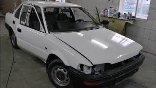 восстановление Toyota Corolla 1992