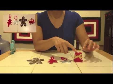 Como hacer adornos navide os reciclados youtube - Como hacer adorno de navidad ...