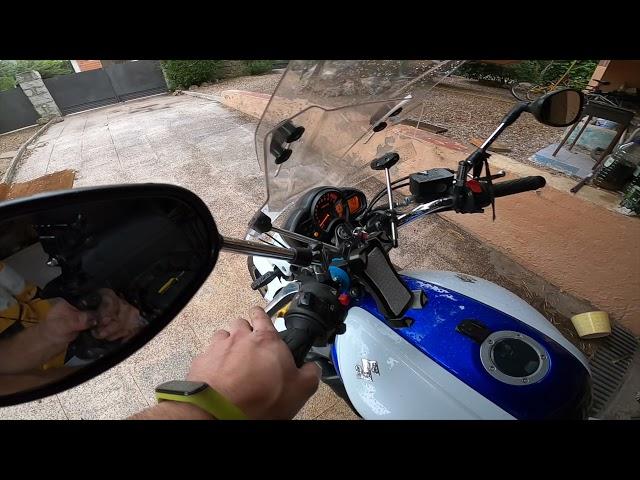 Reparando cable embrague Suzuki SFV 650 2011