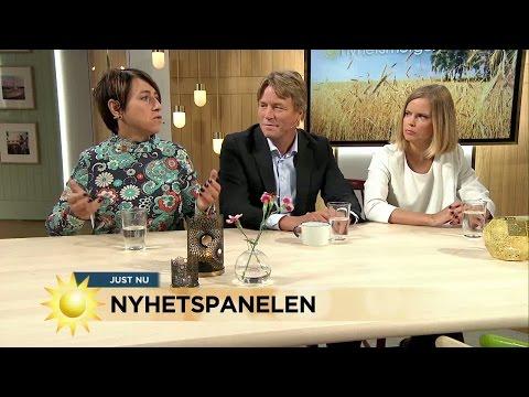 Nyhetspanelen om Macchiarini-affären, parkeringsmygel, Assange och prinskronor - Nyhetsmorgon (TV4)