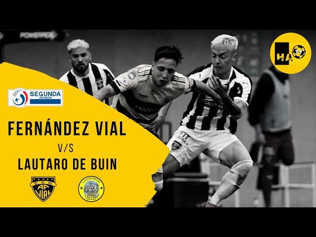 FERNÁNDEZ VIAL (1) v/s LAUTARO DE BUIN (2) / SEGUNDA DIVISIÓN 2020
