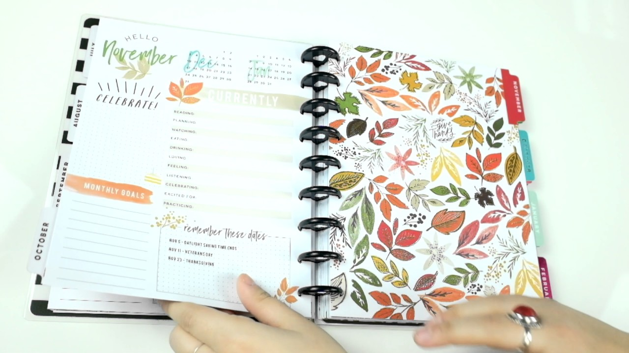 'Everyday Essentials' (Exclusive) Happy Planner® Preview - CLASSIC