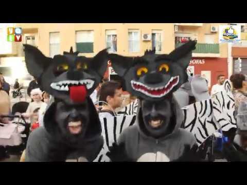 La Cabalgata de Carnaval contagia su alegría por las calles de Algeciras