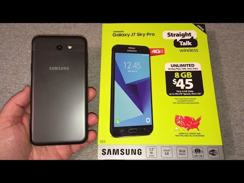Samsung Galaxy J7 Sky Pro Unboxing & First Look