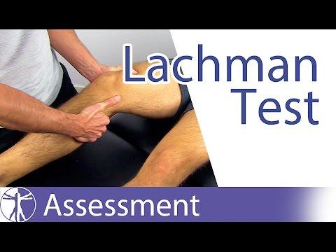Lachman Test⎟Cruciate Ligament