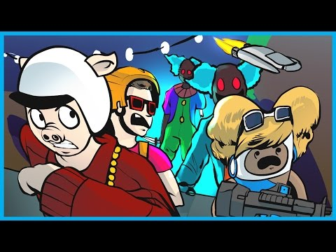 Thumbnail: INFINITE WARFARE ZOMBIES FUNNY MOMENTS! - ALIEN BOSS, PACK A PUNCH, UFO, and CLOWNS! (Spaceland)