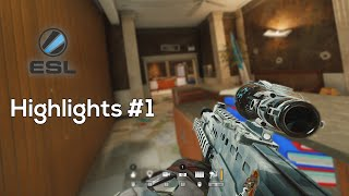 Competitive Highlights #1 - Rainbow Six Siege
