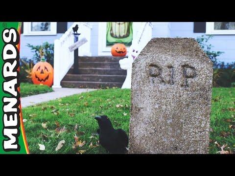 Halloween Tombstones - Menards