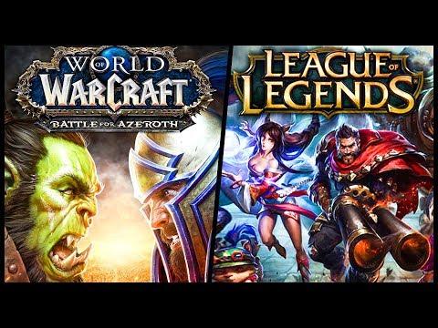 видео: Стрим по world of warcraft и league of legends - wow и lol
