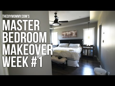 Master Bedroom Makeover Week 1 // Before Pics + The Plan // One Room Challenge