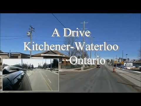 A Drive Through Kitchener/Waterloo Ontario