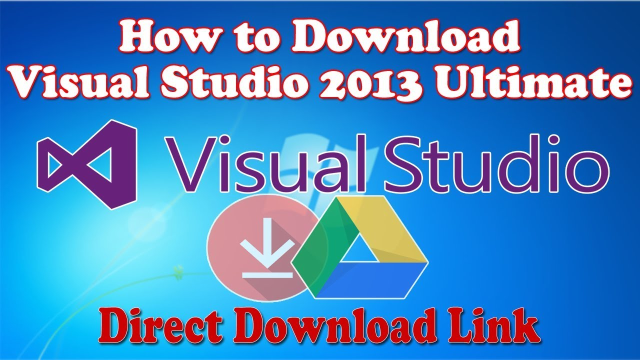 How to Download Visual Studio 2013 Ultimate Free  100% Working